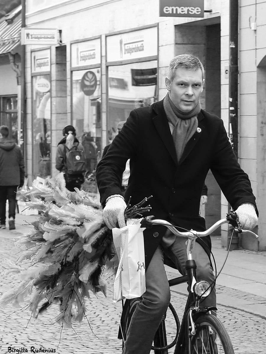 Street Photo - Easter Biker