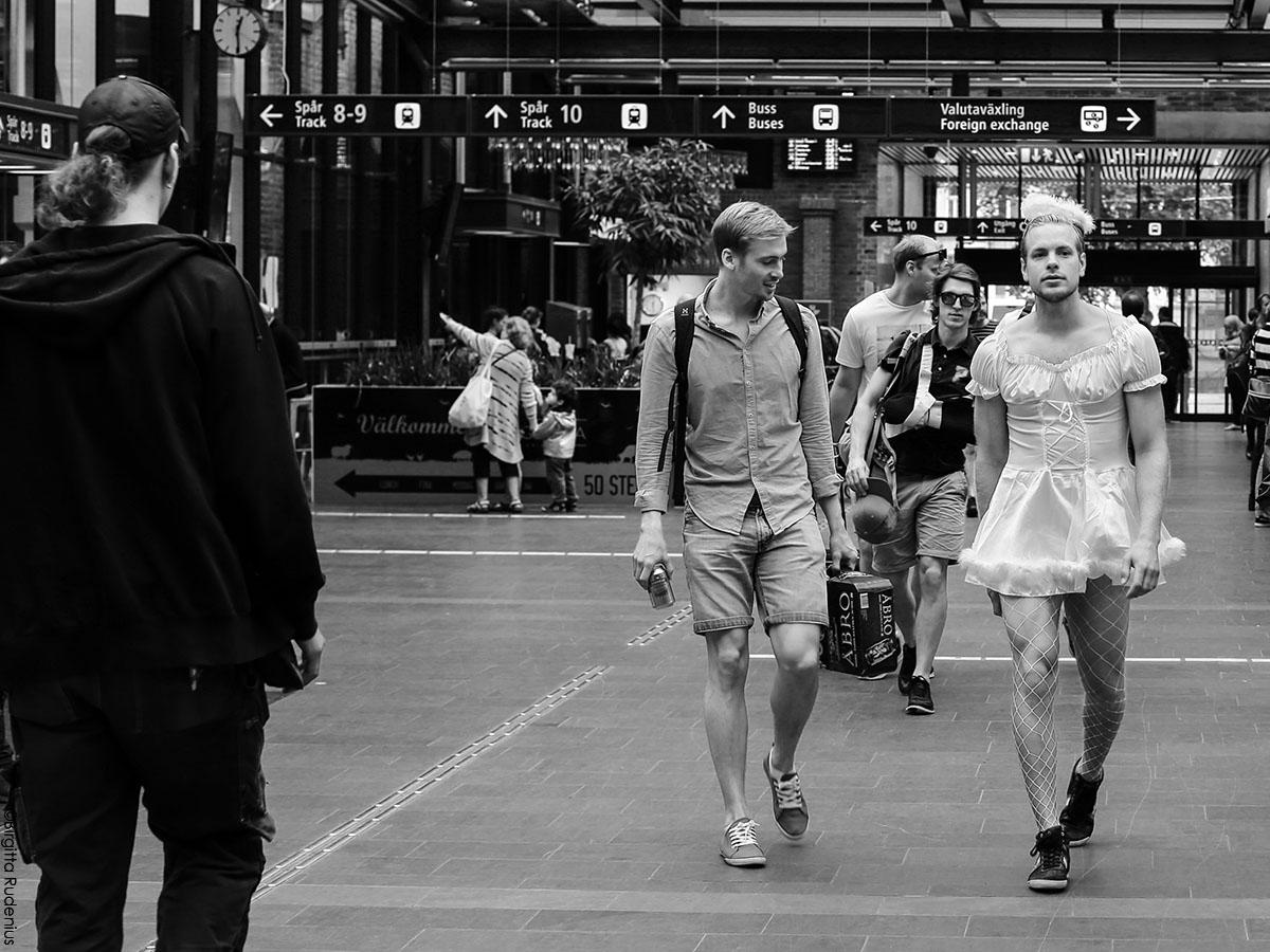Street Photo - Mr Lady