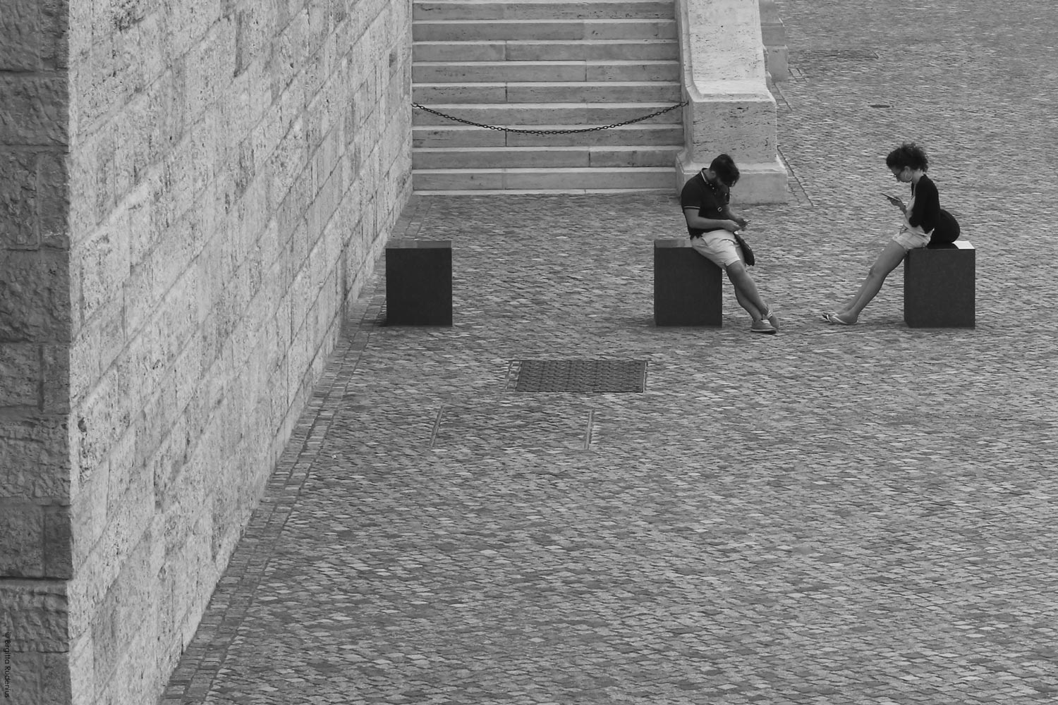 Street Photo - Alone together