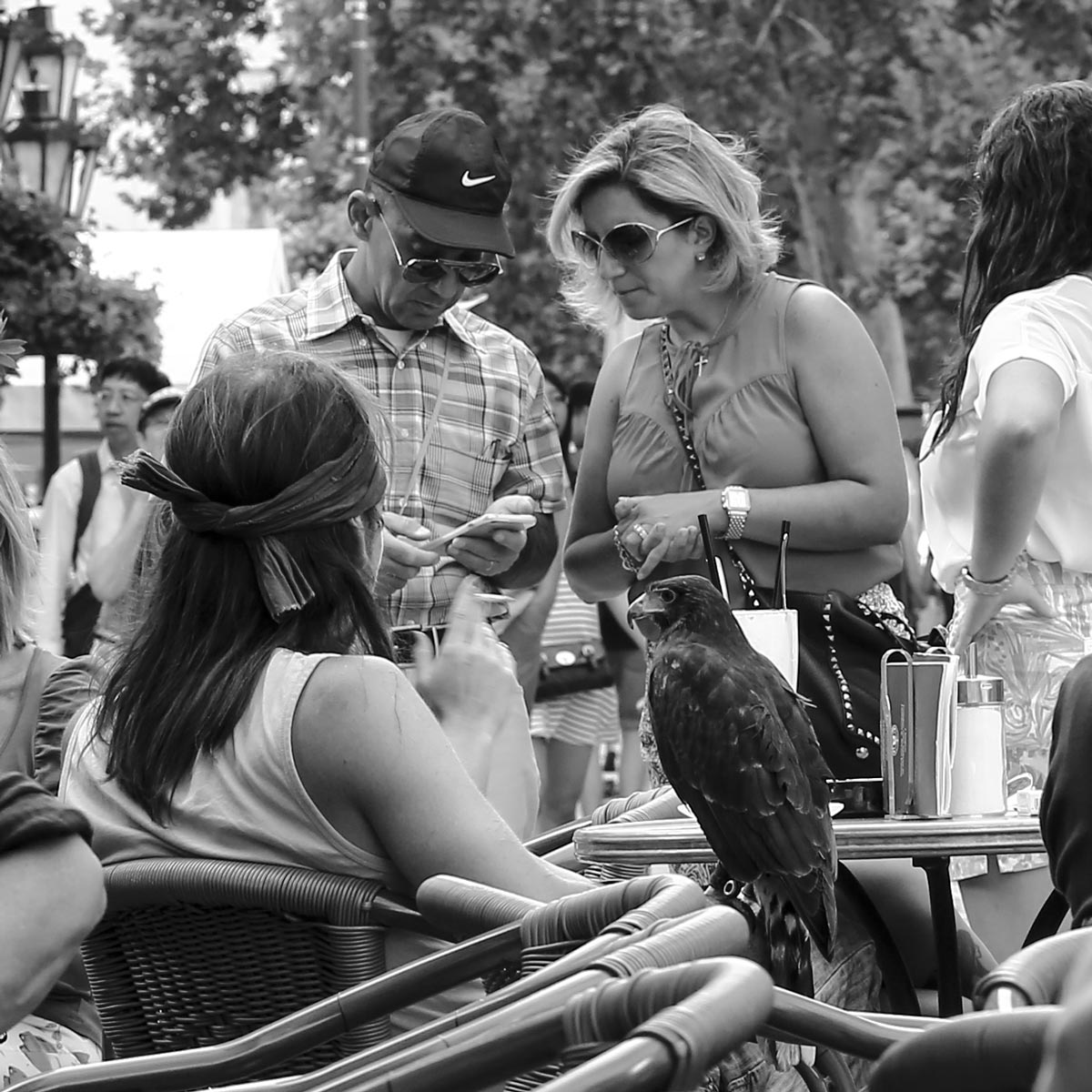 Street Photography - Face to Face - Did we get a good photo?
