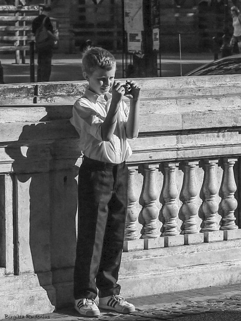Boy & Camera