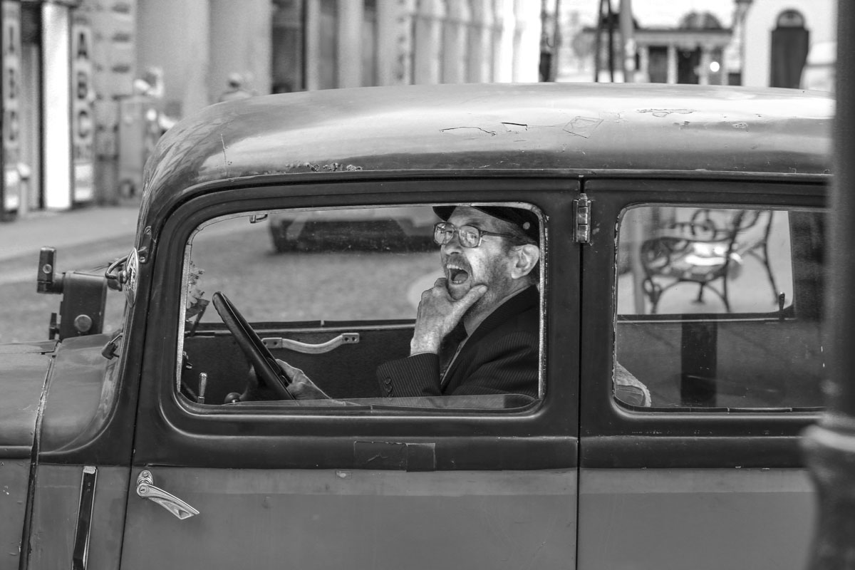 Street Photography - Past in Present