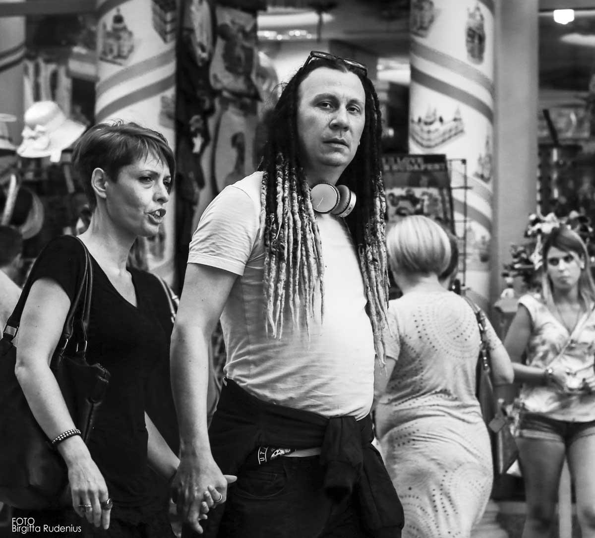 Street Photography -Couple Rasta