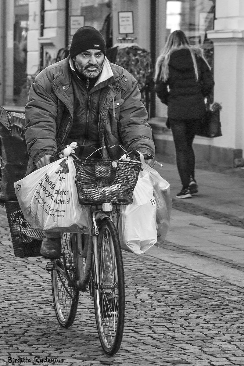 Street Photography - Biker Bags