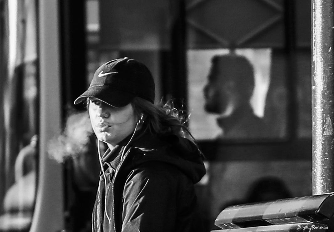 Street Photography - Smoker