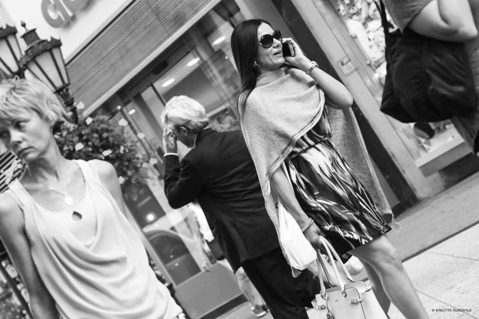 Street Photo - Rambling around on Váci