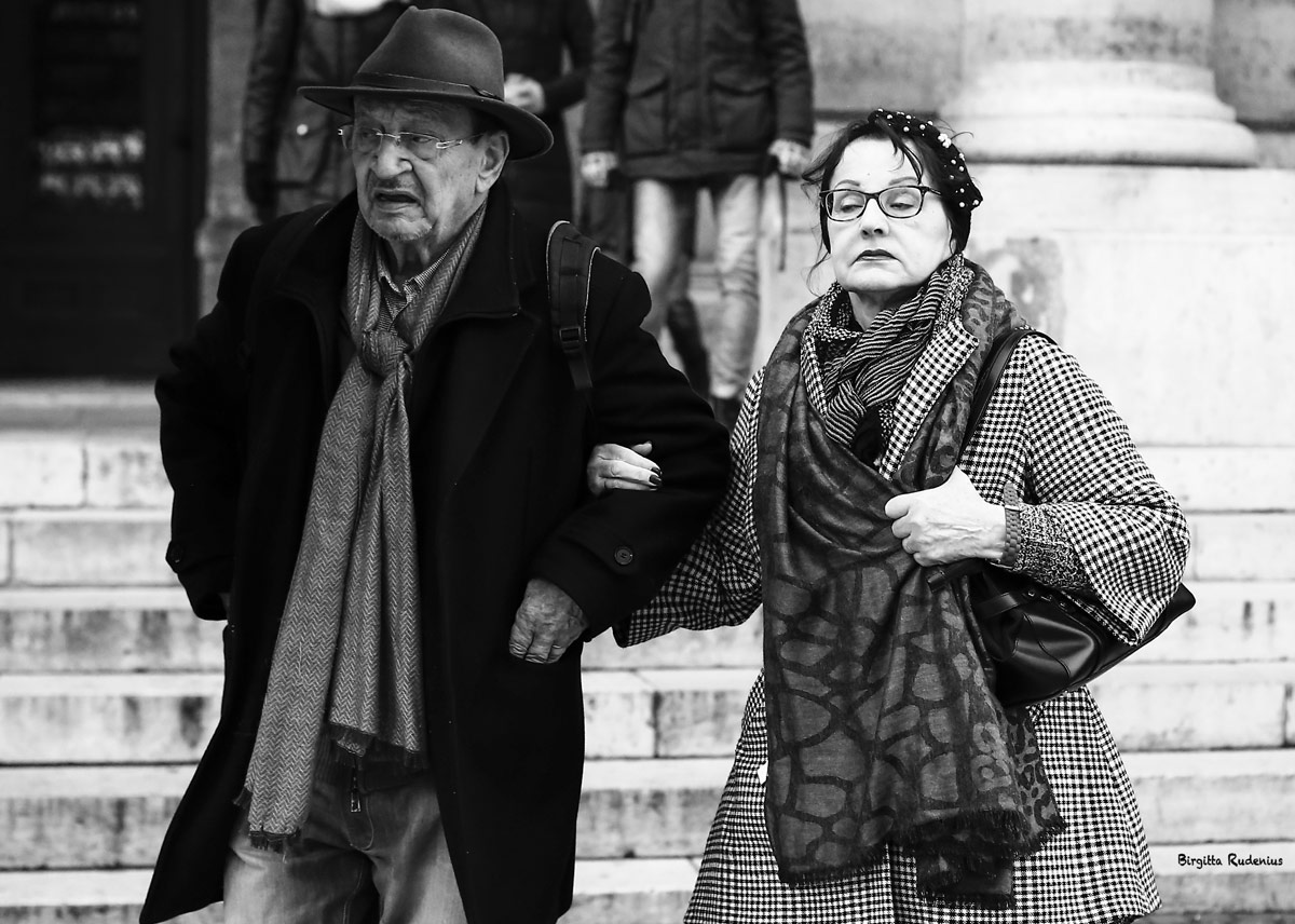 Street Photo - Couple - He and She.