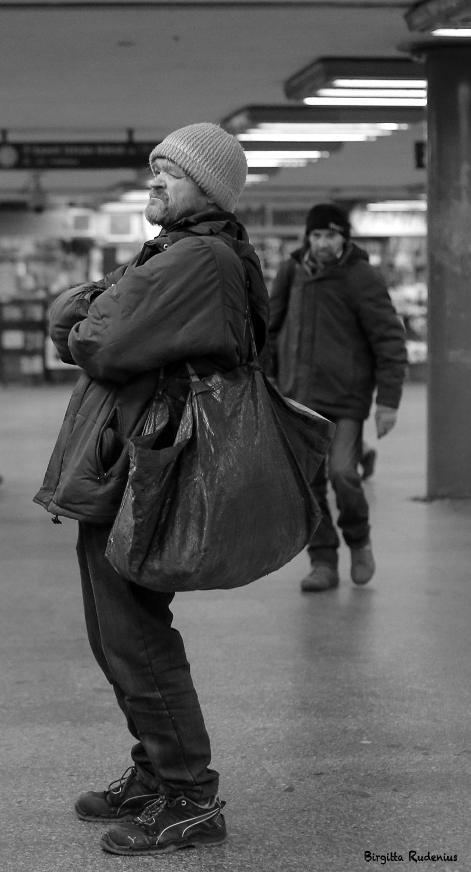 Street Photo - Silence.