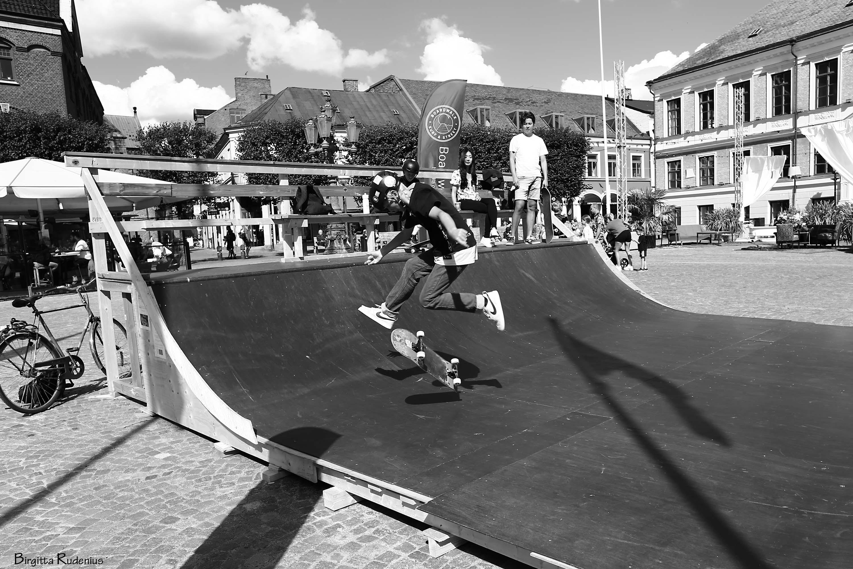 Skater i Lund © Birgitta Rudenius